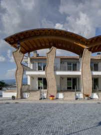 colleferro segni copertura legno lamellare